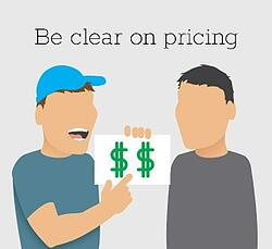 Plumber Tip: Be Clear on Pricing