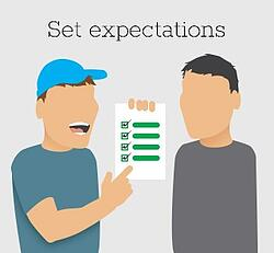 Plumber Tip: Set Expectations