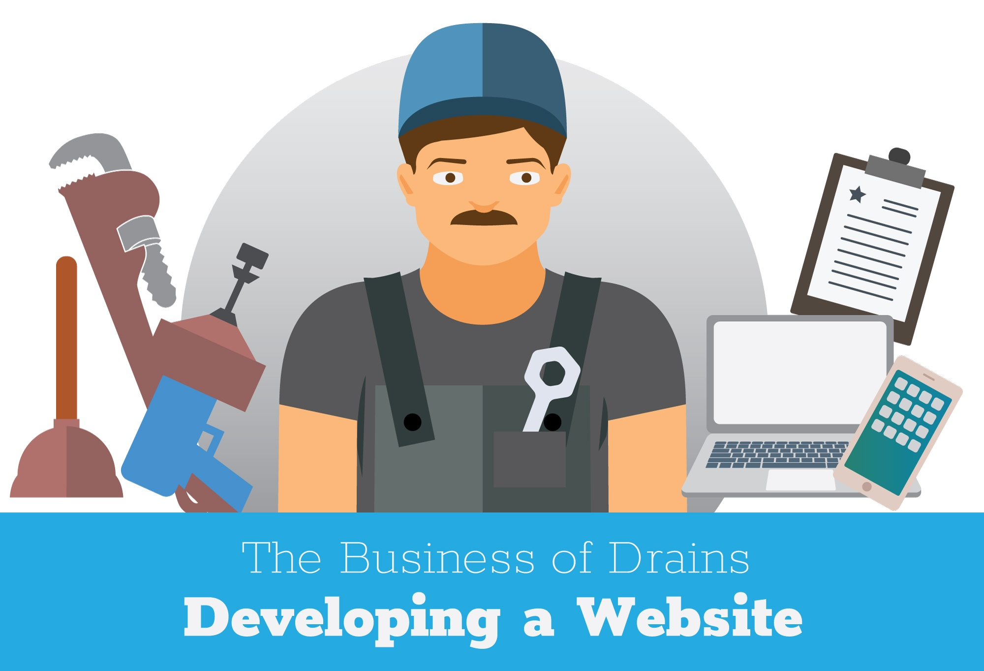 Developing a plumbing website.